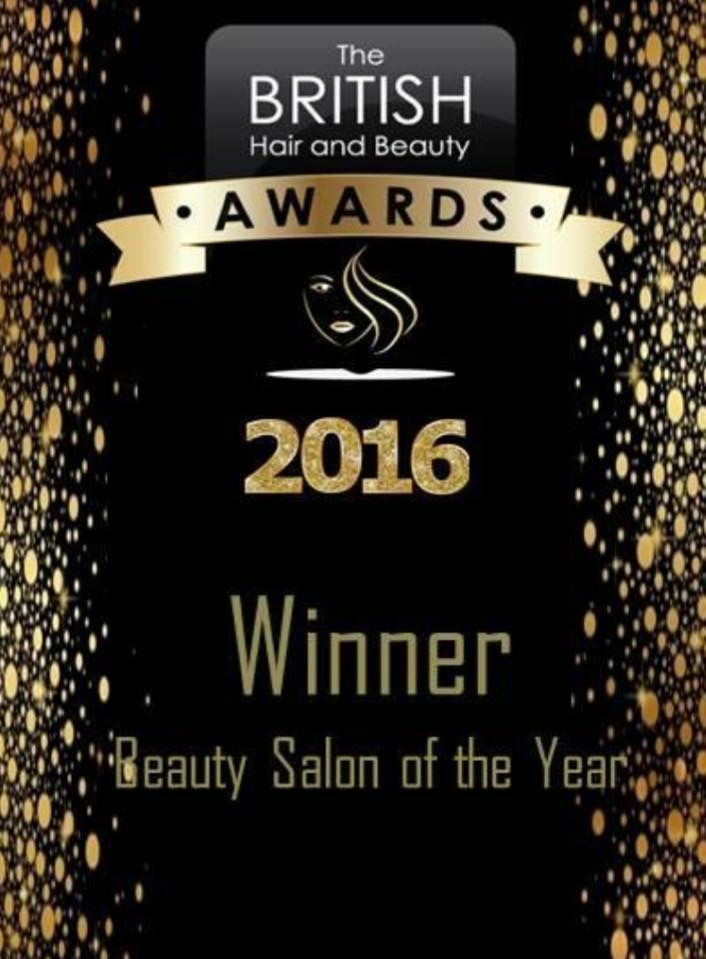 The British Hair and Beauty Awards 2016 Winner