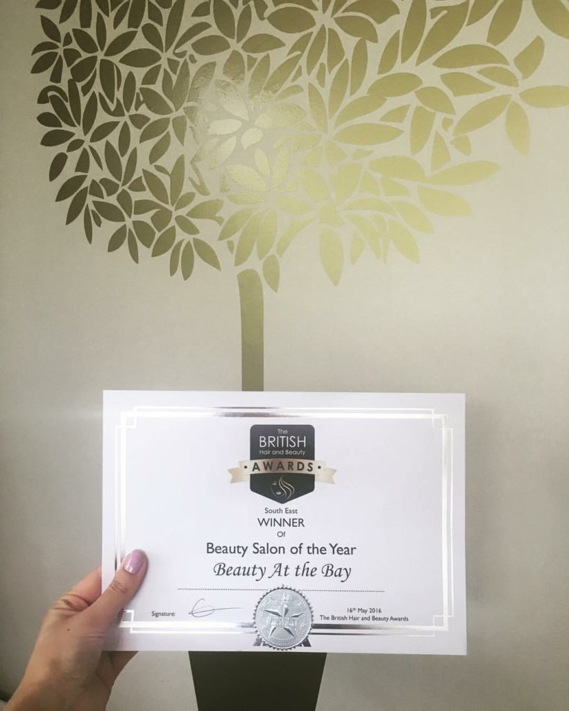 The British Hair and Beauty Awards 2016 - Beauty Salon Of The Year Winner