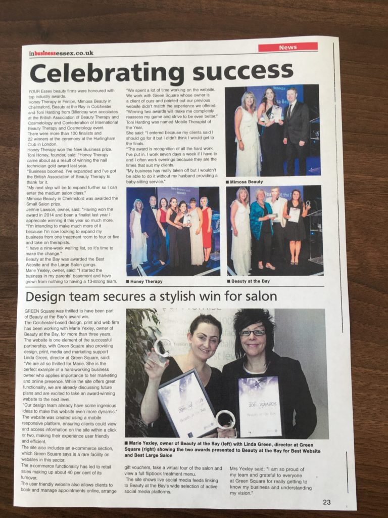 Design team secures a stylish win for salon